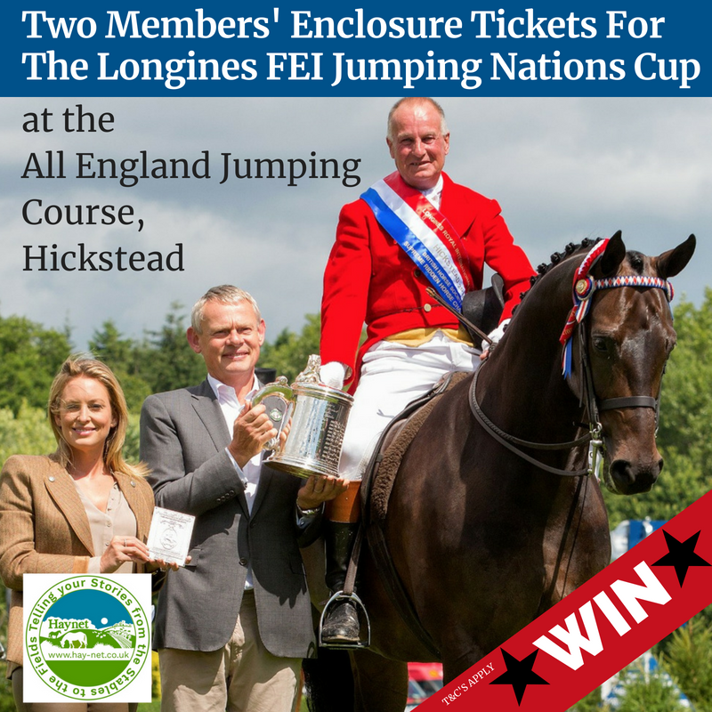 Trade Stands Hickstead : Win two members enclosure tickets for the longines fei jumping