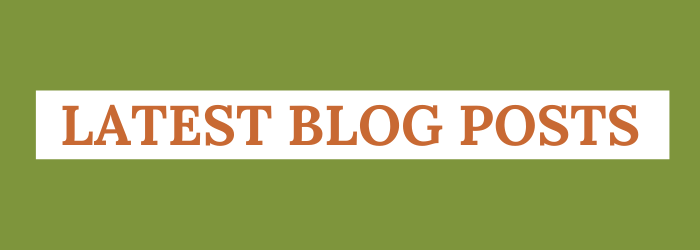 Latest Blog Posts